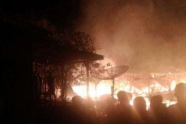 Lima unit rumah di pedalaman Aceh Utara terbakar