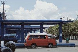 Penumpang di Terminal KM-6 Banjarmasin usai lebaran sepi