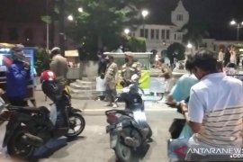 Satpol PP Jakbar intensifkan patroli PSBB di Kota Tua Jakarta