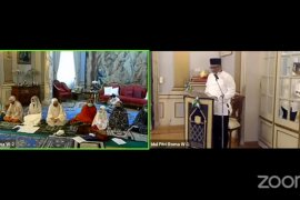 KBRI Roma menggelar Idul Fitri virtual bersama WNI di Italia