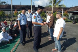 82 WBP di Lapas Tanjung Pandan terima remisi khusus Idul Fitri