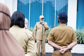 Walikota Tebing Tinggi pimpin Apel ASN usai lebaran