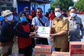 Wagub Hadi Mulyadi tinjau lokasi banjir di Samarinda