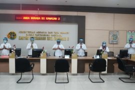 Pelayanan di Kantor Pertanahan Surabaya II terapkan skenario normal baru