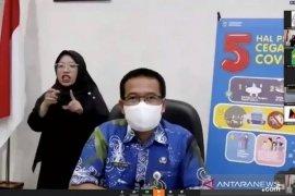Kasus positif COVID-19 di Kalimantan Timur mulai menurun