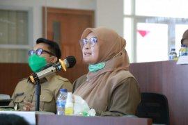 Bupati Pandeglang halal bihalal gunakan konferensi video