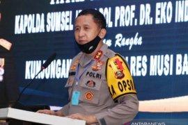 Polda Sumsel tegakkan aturan penumpang selama pemberlakuan PSBB