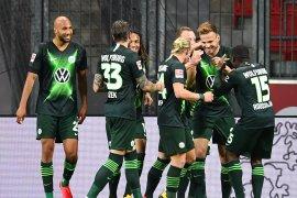 Wolfsburg ngamuk, libas tuan rumah Leverkusen 4-1