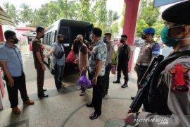 Berikut 10 Tahanan yang di pindahkan dari Polres HST ke Rutan Barabai