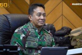 "KSAD Jenderal TNI Andika Perkasa ikuti ""teleconference"" simposium LANPAC"