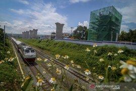 Proyek pembangunan kereta cepat Jakarta - Bandung