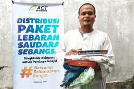 ACT tebar kebahagiaan bagi imam dan marbot masjid di Pekanbaru