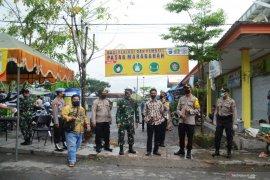 Pemkab Batola gelar simulasi new normal di Pasar Marabahan