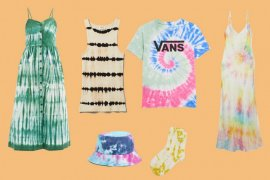Tie-dye diprediksi jadi tren busana musim panas 2020