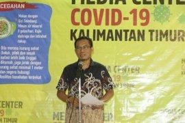 Pasien dinyatakan sembuh  dari COVID-19 di Kaltim bertambah