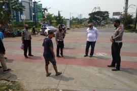 Polda Metro Jaya tetapkan sopir bajaj tersangka tabrakan dengan bus Transjakarta