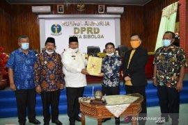 LKPj Wali Kota Sibolga 2019 disetujui, dewan sampaikan sejumlah masukan