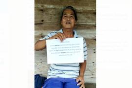 Meski hidup sebatang kara Ampan menolak BST dari pemerintah