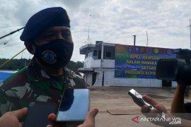 Lanal Bangka Belitung siagakan kapal patroli di 30 pelabuhan tikus