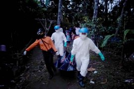 Di Sungai Kalisabuk Cilacap, tim SAR gabungan temukan korban tenggelam