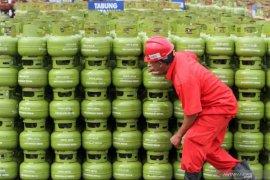 Saat lebaran konsumsi gas bersubsidi di Sumbar naik 18 persen