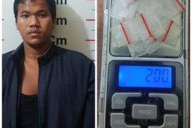 Wak Leh pengedar sabu-sabu ditangkap Polisi Pangkalan Susu Langkat