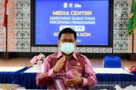 Banda Aceh semprot desinfektan rumah warga positif corona