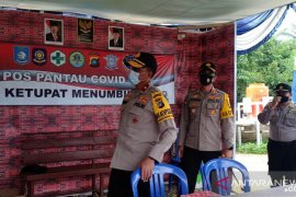 Polres Bangka Barat patroli bersama TNI AL awasi pelabuhan kecil