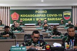 Pangdam I/BB konferensi video dengan Panglima TNI bahas protokol kesehatan