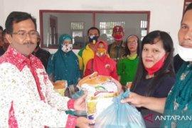 Kementan RI kembali bagikan bantuan pangan kepada THL BPP Sumut