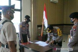Dua pejabat Polres Bangka Barat pindah tugas