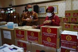 Ribuan APD bantuan dari BIN didistribusikan di Kota Surabaya