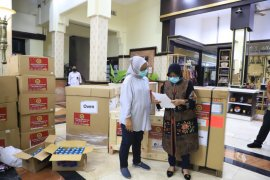 BIN bantu ribuan alkes dan APD untuk penanganan COVID-19 di Kota Surabaya
