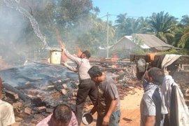 Kebakaran hanguskan rumah petani Mukomuko