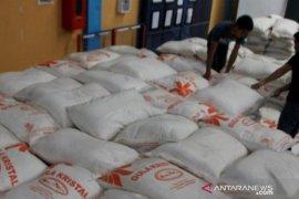 Harga gula pasir kiloan di Bangka Belitung turun