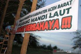 BPBD ingatkan abrasi laut di Aceh Barat semakin berbahaya