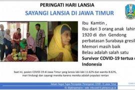 Nenek usia 100 tahun di Surabaya sembuh dari COVID-19, begini penanganannya