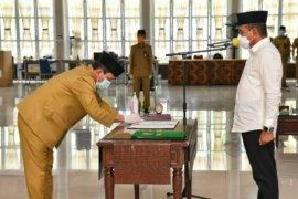 Gubsu lantik 46 pejabat administrator