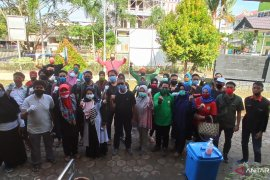Dispora Kaltim libatkan ratusan pemuda gelar bhakti sosial pasca banjir