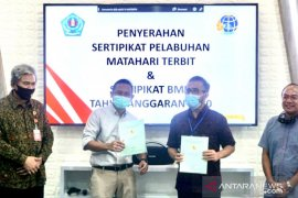 "Pemkot Denpasar terima sertifikat tanah Pelabuhan ""Matahari Terbit"" Sanur"