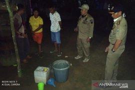 Satpol PP Kabupaten Belitung amankan puluhan liter minuman keras