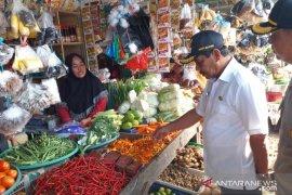 Harga kebutuhan pokok di Kabupaten Belitung turun setelah Lebaran