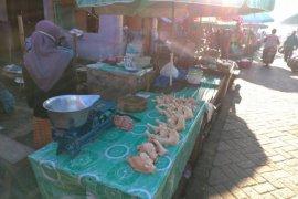 Harga ayam di pasar tradisional Kalsel tinggi