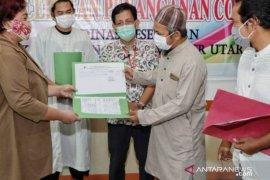 Dua pasien COVID-19 di Kabupaten Penajam sembuh
