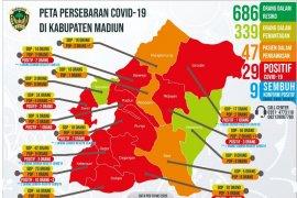 Satu keluarga di Kabupaten Madiun terpapar virus corona