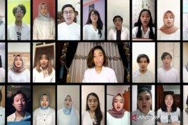 Paduan Suara Universitas Pancasila launching secara virtual