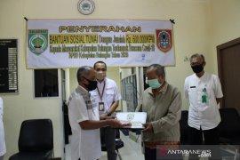 Dinas Sosial Kabupaten Balangan serahkan BST ke Kelurahan Batu Piring