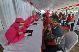 "153 warga Surabaya reaktif COVID-19 dari hasil ""rapid test"" massal"