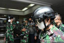 "TNI AD gunakan ""Helmet Thermal KC Wearable"" guna putus penyebaran COVID-19"