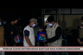 Bantuan Korban Kebakaran Mangkuraja Loa Ipuh